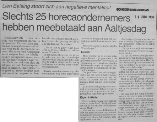 Schilder's Nieuwsblad - 14 juni 1990